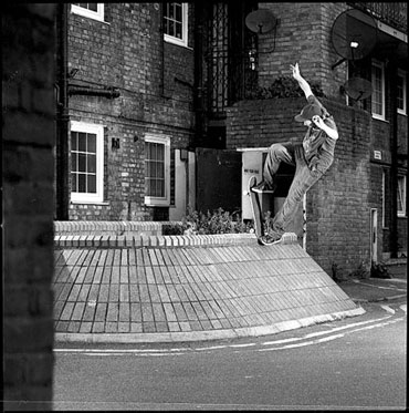 Paul Shier for Broadcast Skateboarding
