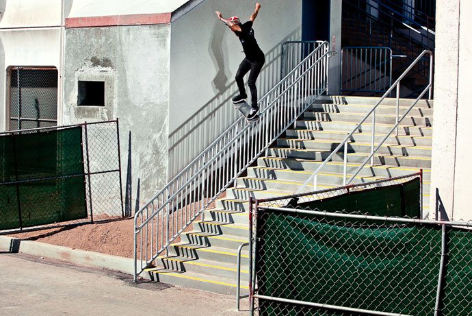 Photo by Shad Lambert for The Skateboard Mag
